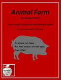 Animal Farm Novel Study Discussion and Activity Guide