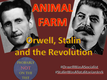 Animal Farm: Orwell, Stalin and the Russian Revolution, a