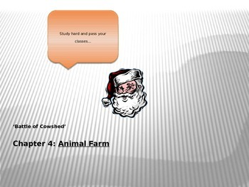 Animal Farm PPT Chapter 4
