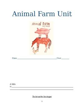 Animal Farm Packet