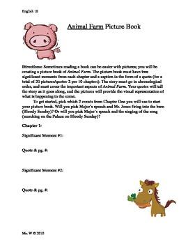 Animal Farm Picture Book