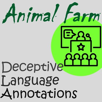 language as a tool of propaganda animal farm