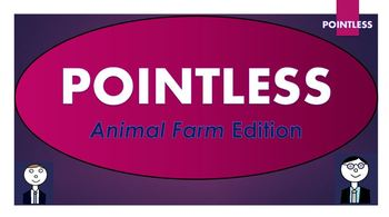 Animal Farm Pointless Game (and blank template to create your own games!)