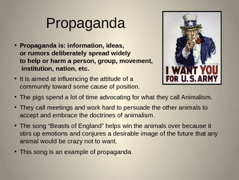 Animal Farm Introductory PowerPoint