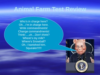 Animal Farm PowerPoint Review