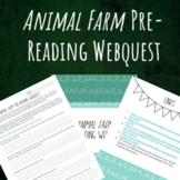Animal Farm Pre-Reading Webquest