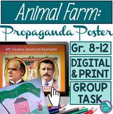 Animal Farm Propaganda Poster Assignment George Orwell Goo