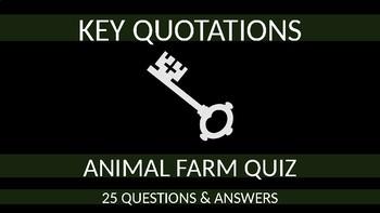 Animal Farm Quiz