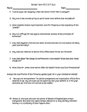 Animal Farm Quizzes, Notes and Essay Prompt