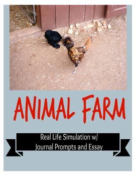 Animal Farm Real Life Animalism Simulation Activity
