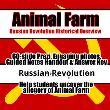 Animal Farm - Russian Revolution Overview; Prezi; Communism; British Literature