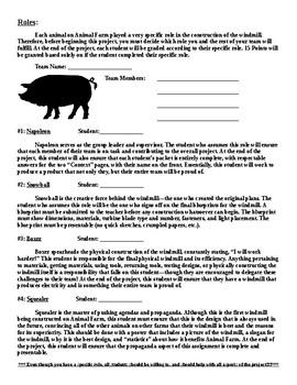 Animal Farm STEM Project