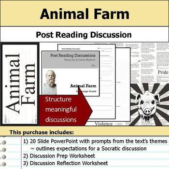 Animal Farm - Socratic Method - Post Reading Discussions
