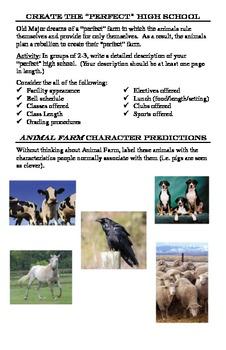 Animal Farm Student Activity Packet