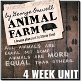 Animal Farm by George Orwell: Complete Teaching Pack {Lesson Plans & Activities}