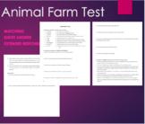Animal Farm - Test -George Orwell
