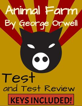 Animal Farm Test and Test Review