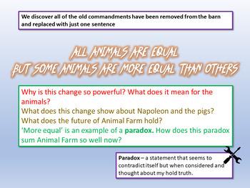 Animal Farm The End