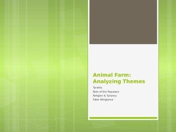Animal Farm: Themes Powerpoint