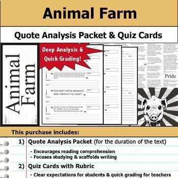 Animal Farm Complete Unit Plan