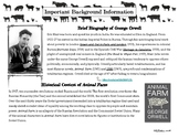 Animal Farm Unit Guided Reading, Quizzes, Character Tracking, Analysis