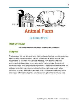 Animal Farm Unit Overview