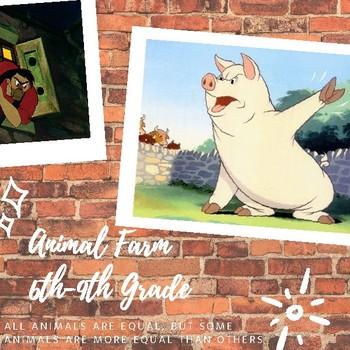6-9th Grade - Animal Farm - Unit Plan