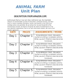 Animal Farm Unit Plan Template