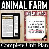 Animal Farm Unit Plan: Animal Farm Activities + Informatio