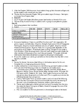 Literature - Animal Farm Unit Plan