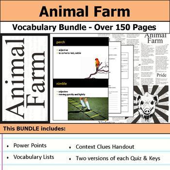 Animal Farm - Vocabulary