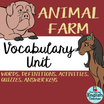 Animal Farm Vocabulary