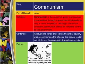 Animal Farm Vocabulary PowerPoint