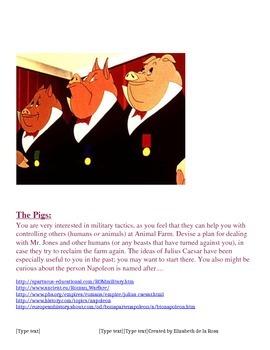 Animal Farm Webquest