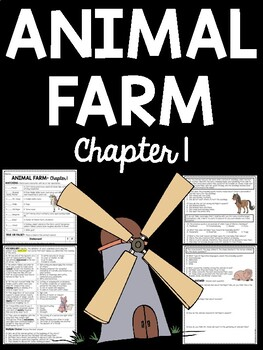Animal Farm by George Orwell Chapter 1 Reading Comprehension Questions