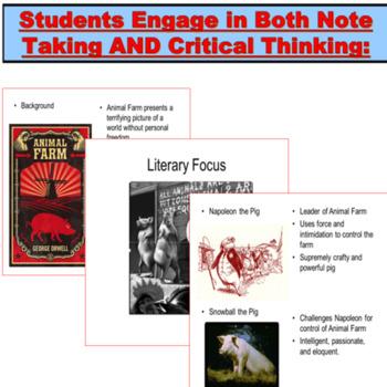 Animal Farm by George Orwell PowerPoint