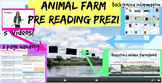 Animal Farm by George Orwell Pre Reading Prezi with Handout