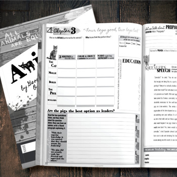 Animal Farm by Orwell: Student Workbooks