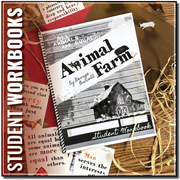 Animal Farm By Orwell Student Workbooks By Stacey Lloyd Tpt