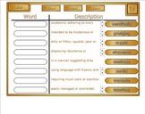 Animal Farm vocab game for Smartboard