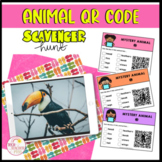 Animal Features QR Code Scavenger Hunt