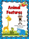 Animal Features - Wonders First Grade - Unit 4 Week 1