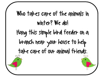 Animal Feeder Explanation Note