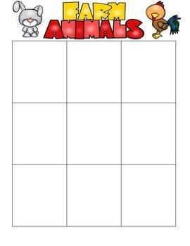 Animal File Folder Worksheet Pack