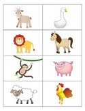 Animal Flash Cards - English
