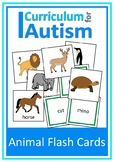 Animals Flash Cards Sort Match Vocabulary Autism Special Education Speech