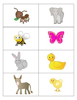 Animal Flashcards - French