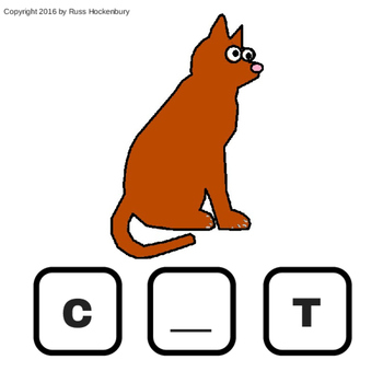 Animal Flash Cards (Missing Letters, Identification, Phonics)