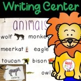 Zoo Animals Pictionary Cards - Vocabulary, Writing Center,