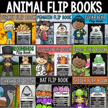 Animal Flip Book Bundle {Reading Comprehension & Craft}